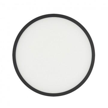 Светодиодная панель Citilux Омега CLD50R222, LED 22W 3000K 1760lm, черный, черно-белый, металл с пластиком - миниатюра 3