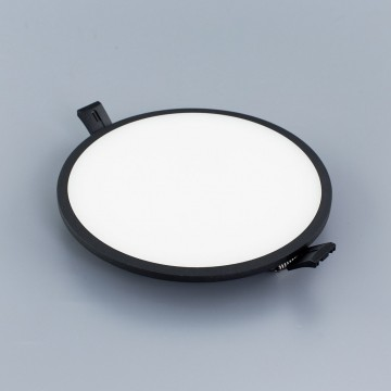 Светодиодная панель Citilux Омега CLD50R222, LED 22W 3000K 1760lm, черный, черно-белый, металл с пластиком - миниатюра 5