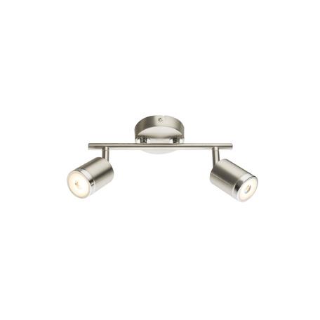 Потолочный светодиодный светильник с регулировкой направления света Globo Comore 56958-2, LED 10W 3000K 640lm, металл