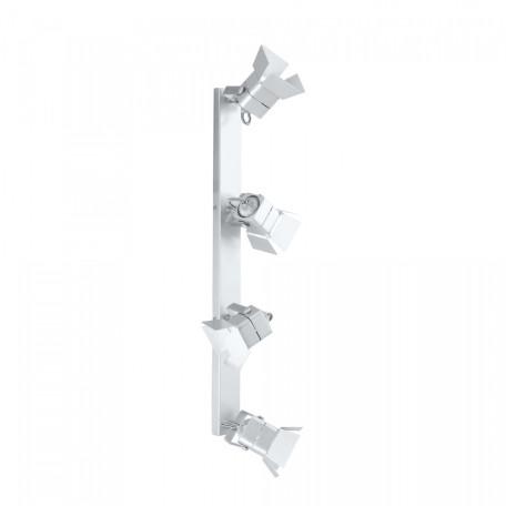 Настенный светильник с регулировкой направления света Citilux Рубик CL526540S, 4xGU10x50W, хром, белый, металл