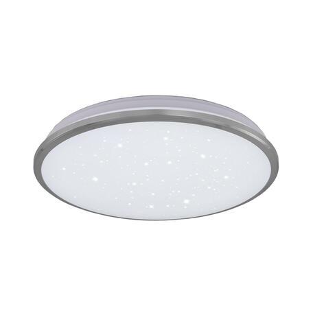 Потолочный светодиодный светильник Citilux Луна CL702301Wz, IP54, LED 30W 3000K 2200lm, хром, металл с пластиком