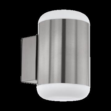 Настенный светильник Eglo Merlito 97843, IP44, 1xE27x10W, сталь, металл