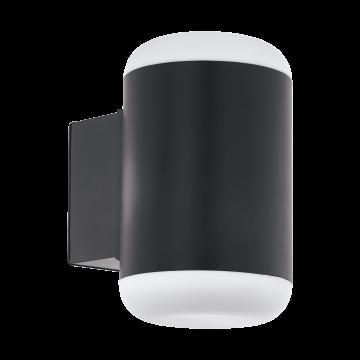 Настенный светильник Eglo Merlito 97844, IP44, 1xE27x10W, серый, металл