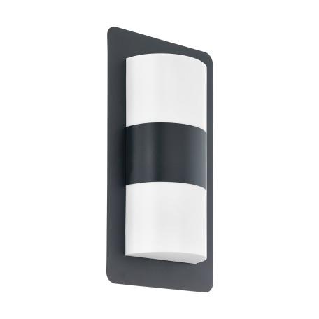 Настенный светильник Eglo Cistierna 98086, IP44, 2xE27x10W, серый, белый, металл, пластик
