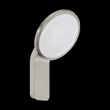 Настенный светодиодный светильник Eglo Cicerone 98127, IP44, LED 11W 3000K 1000lm, сталь, металл, металл со стеклом/пластиком