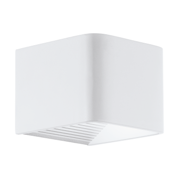 Настенный светодиодный светильник Eglo Doninni 98266, IP44, LED 6W 3000K 600lm, белый, металл