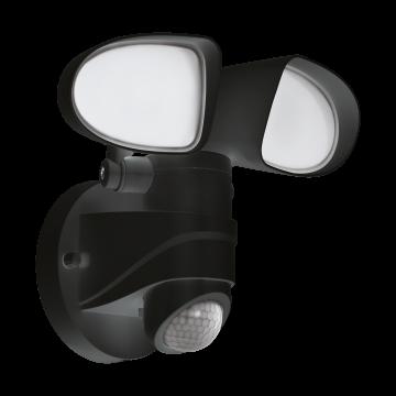 Светодиодный прожектор Eglo Pagino 98176, IP44, LED 15W 5000K 1800lm CRI>80, черный, пластик