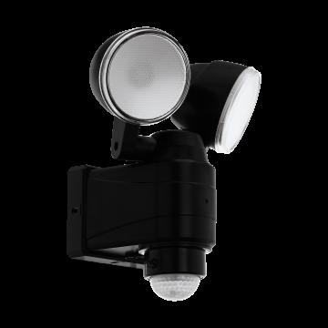 Прожектор Eglo Casabas 98189, IP44, черный, прозрачный, пластик
