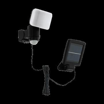 Светодиодный прожектор Eglo Casabas 98195, IP44, LED 5,4W 6500K 230lm CRI>80, черный, пластик