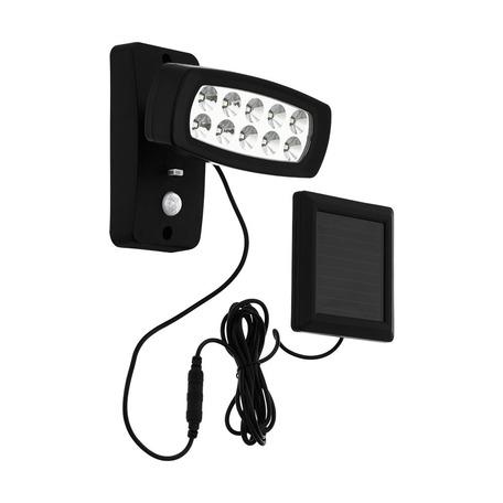Светодиодный прожектор Eglo Palizzi 98187, IP44, LED 2W 3000K 150lm, черный, пластик