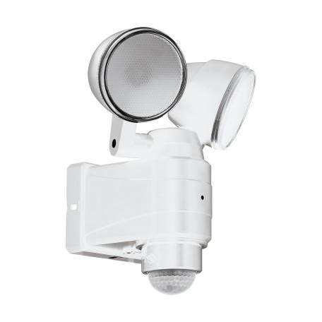 Светодиодный прожектор Eglo Casabas 98194, IP44, LED 8W 6500K 800lm CRI>80, белый, пластик