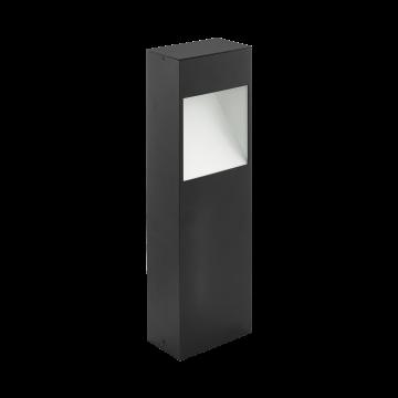 Садово-парковый светодиодный светильник Eglo Manfria 98096, IP44, LED 10W 3000K 830lm, серый, металл
