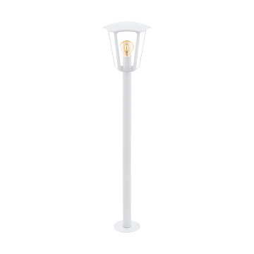 Садово-парковый светильник Eglo Monreale 98118, IP44, 1xE27x60W, белый, прозрачный, металл, металл со стеклом/пластиком