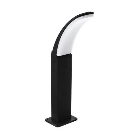 Садово-парковый светодиодный светильник Eglo Fiumicino 98151, IP44, LED 11W 3000K 1300lm, черный, черно-белый, металл, металл с пластиком
