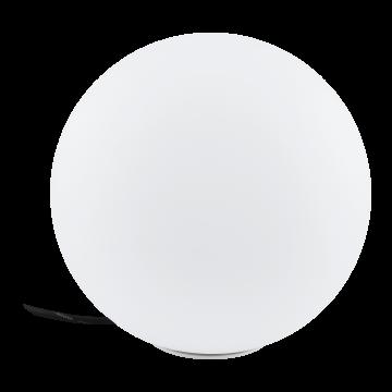 Садовый светильник с пультом ДУ Eglo Monterolo-C 98105, IP65, 1xE27x9W, белый, пластик