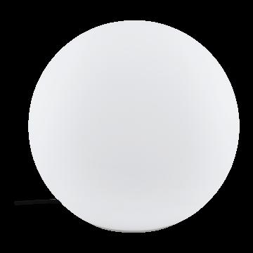Садовый светильник с пультом ДУ Eglo Monterolo-C 98106, IP65, 1xE27x9W, белый, пластик