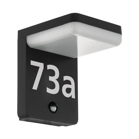 Светодиодный светильник-указатель Eglo Amarosi 98092, IP44, LED 11W 3000K 830lm, черный, белый, металл, пластик