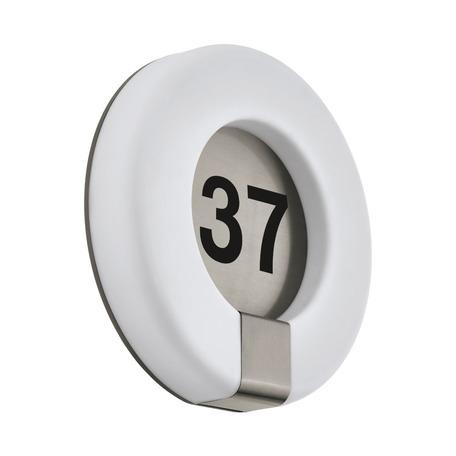 Светодиодный светильник-указатель с пультом ДУ Eglo Connect Marchesa-C 98145, IP44, LED 15W 2700-6500K 1650lm CRI>80, сталь, белый, металл, пластик