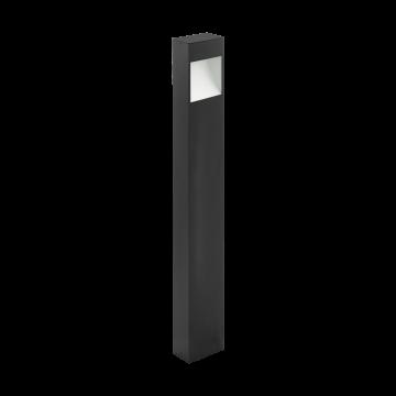 Уличный фонарь Eglo Manfria 98097, IP44, белый, серый, металл