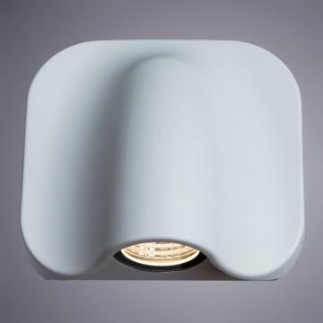 Настенный светодиодный светильник Arte Lamp Instyle Lupus A8503AL-1WH, IP54, LED 5W 3000K 300lm CRI≥80, белый, металл, стекло