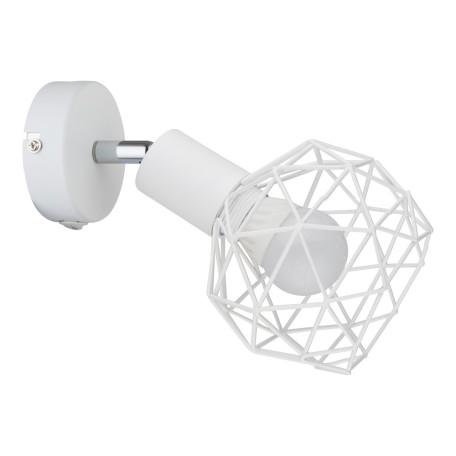 Настенный светильник с регулировкой направления света Arte Lamp Sospiro A6141AP-1WH, 1xE14x40W, белый, металл