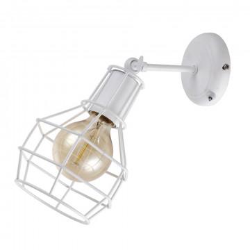 Настенный светильник с регулировкой направления света Arte Lamp Interno A9182AP-1WH, 1xE27x60W, белый, металл
