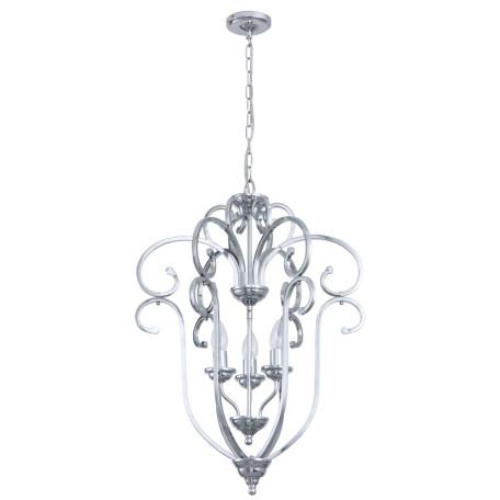 Подвесная люстра Arte Lamp Ravenna A8033SP-3CC, 3xE14x60W, хром, металл
