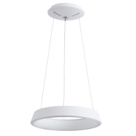 Подвесной светодиодный светильник Arte Lamp Corona A6240SP-1WH, белый, металл, пластик