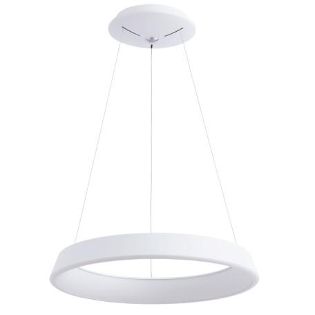 Подвесной светодиодный светильник Arte Lamp Corona A6250SP-1WH, белый, металл, пластик