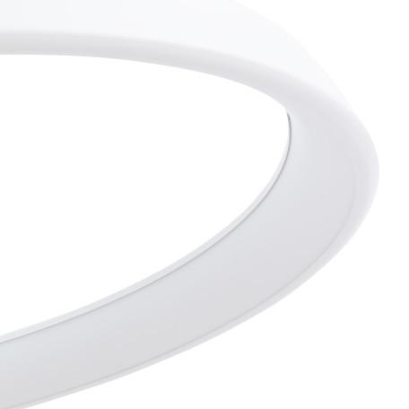 Подвесной светодиодный светильник Arte Lamp Corona A6280SP-1WH, белый, металл, пластик - миниатюра 3