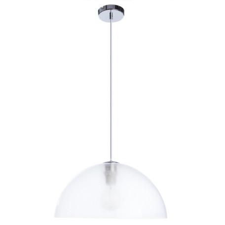 Подвесной светильник Arte Lamp A6540SP-1CC, 1xE27x40W, хром, прозрачный, металл, пластик - миниатюра 1