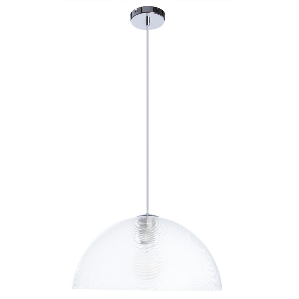 Подвесной светильник Arte Lamp A6540SP-1CC, 1xE27x40W, хром, прозрачный, металл, пластик - фото 1
