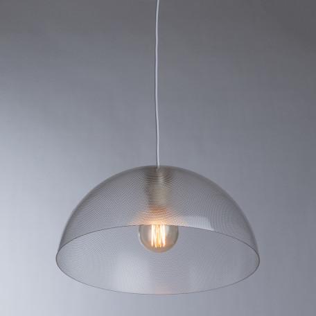 Подвесной светильник Arte Lamp A6540SP-1CC, 1xE27x40W, хром, прозрачный, металл, пластик - миниатюра 2