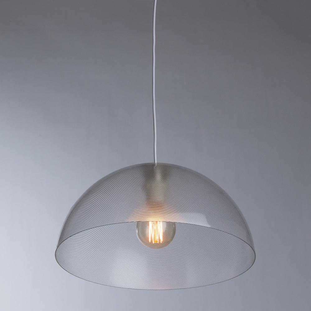 Подвесной светильник Arte Lamp A6540SP-1CC, 1xE27x40W, хром, прозрачный, металл, пластик - фото 2