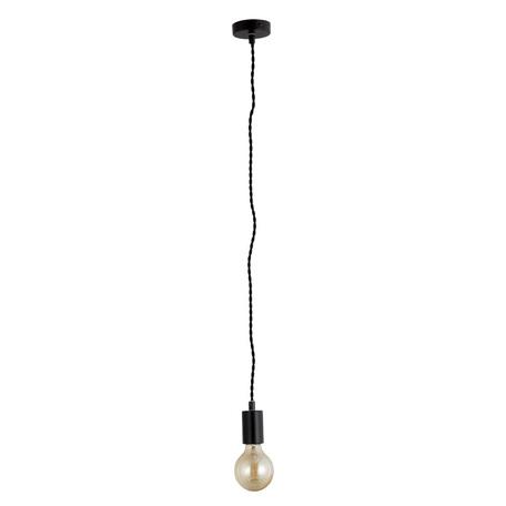 Подвесной светильник Arte Lamp Fuori A9184SP-1BK, 1xE27x60W, черный, металл