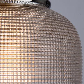 Подвесной светильник Arte Lamp Ricardo A9186SP-1CC, 1xE27x40W, хром, прозрачный, металл, стекло - миниатюра 3
