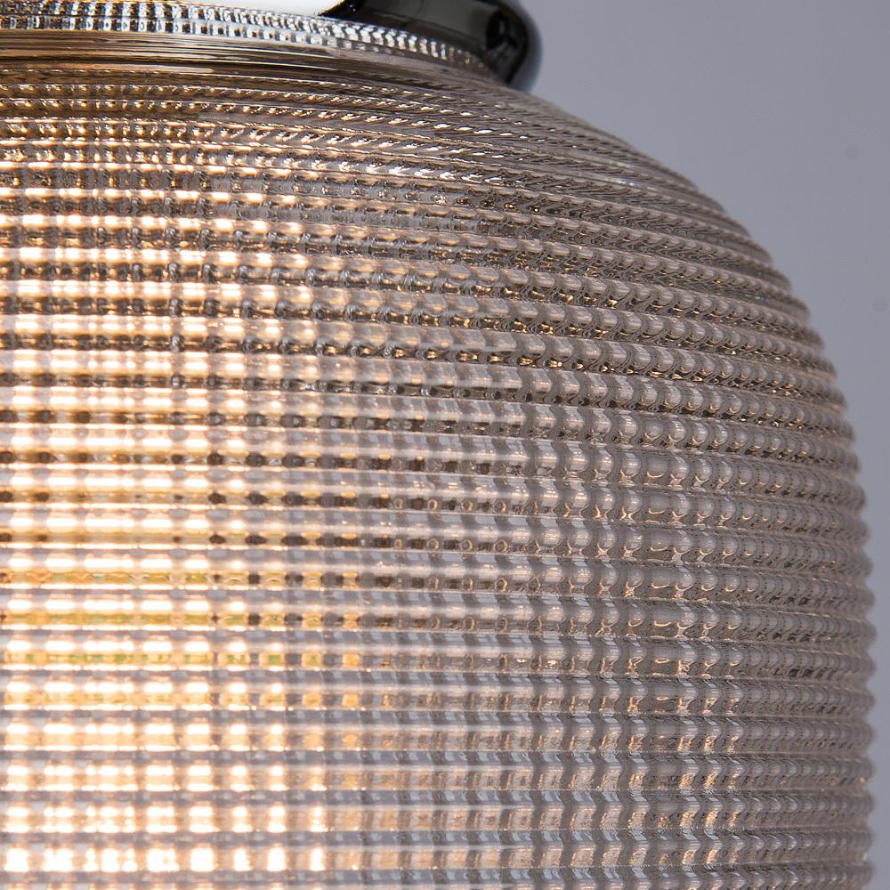 Подвесной светильник Arte Lamp Ricardo A9186SP-1CC, 1xE27x40W, хром, прозрачный, металл, стекло - фото 3