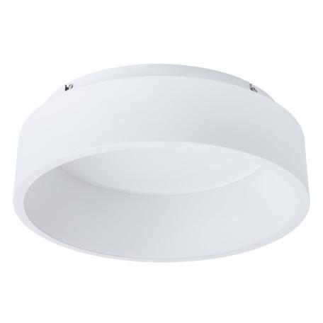 Потолочный светодиодный светильник Arte Lamp Corona A6245PL-1WH, LED 26W 4000K 1670lm CRI≥80, белый, металл, металл с пластиком, пластик