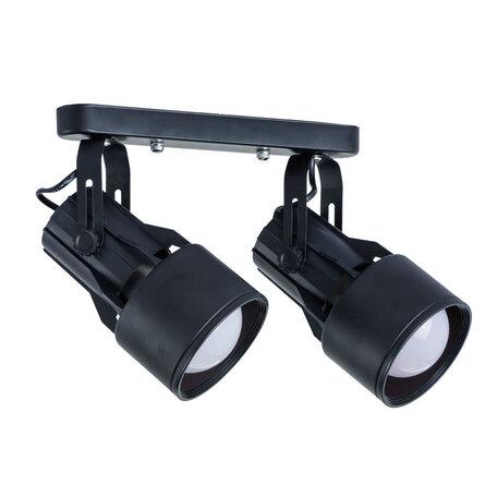 Потолочный светильник с регулировкой направления света Arte Lamp Lyra A6252PL-2BK, 2xE27x40W, черный, металл