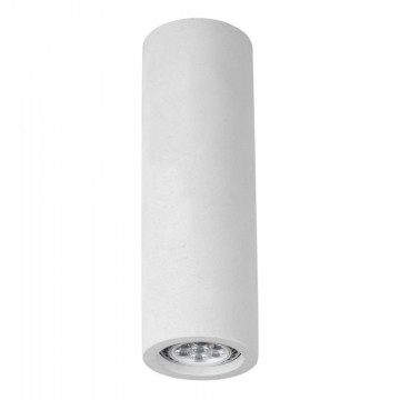 Потолочный светильник Arte Lamp Instyle Tubo A9267PL-1WH, 1xGU10x35W, белый, под покраску, гипс