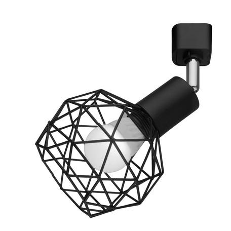 Светильник с регулировкой направления света для шинной системы Arte Lamp Instyle Sospiro A6141PL-1BK, 1xE14x40W, черный, металл