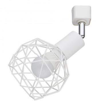 Светильник для шинной системы Arte Lamp Instyle Sospiro A6141PL-1WH, 1xE14x40W, белый, металл