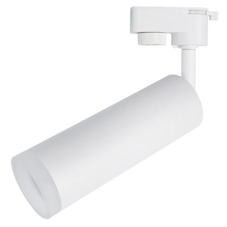 Светодиодный светильник с регулировкой направления света для шинной системы Arte Lamp Instyle Hubble A6810PL-1WH, LED 10W 4000K 600lm CRI≥80, белый, металл, стекло