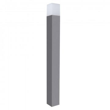Уличный фонарь Arte Lamp Instyle Portu A8372PA-1GY, IP54, 1xE27x40W, серый, белый, металл, стекло