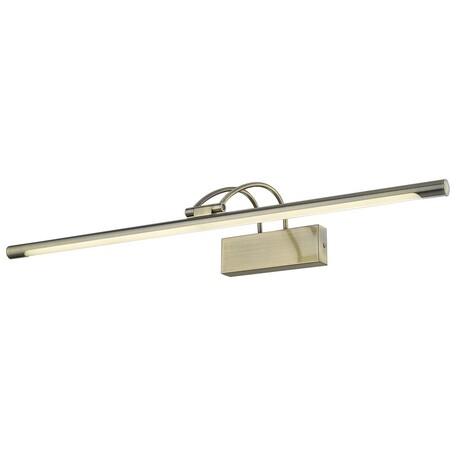 Настенный светодиодный светильник Velante 208-561-01, LED 16W 4000K, бронза, металл