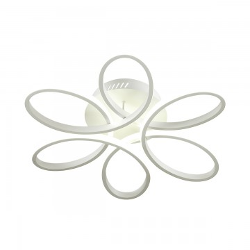 Потолочная светодиодная люстра Lumion Eileen 3699/75CL, LED 75W 4000K (дневной), белый, металл, пластик