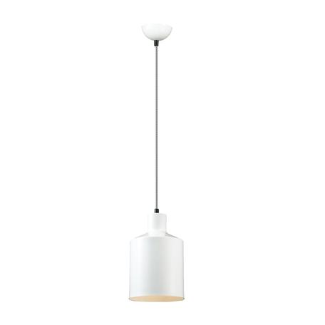 Подвесной светильник Lumion Suspentioni Rigby 3694/1, 1xE27x60W, белый, металл
