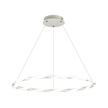 Подвесной светодиодный светильник Lumion Ledio Serenity 3700/43L, LED 43W 4000K, белый, металл, металл с пластиком, пластик