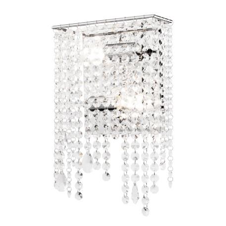 Бра Maytoni Empress DIA002WL-02CH, 2xE14x60W, хром, прозрачный, металл, хрусталь