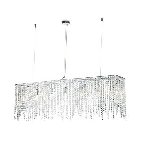 Подвесной светильник Maytoni Empress DIA002PL-07CH, 7xE14x60W, хром, прозрачный, металл, хрусталь